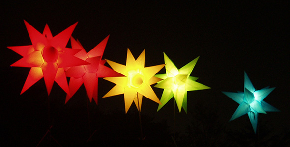 Inflatable stars