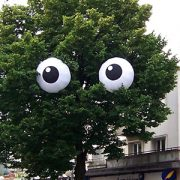 Inflatable eyes